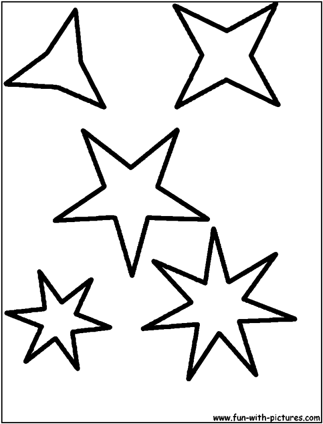 640x840 Printable Pictures Of Stars Many Interesting Cliparts