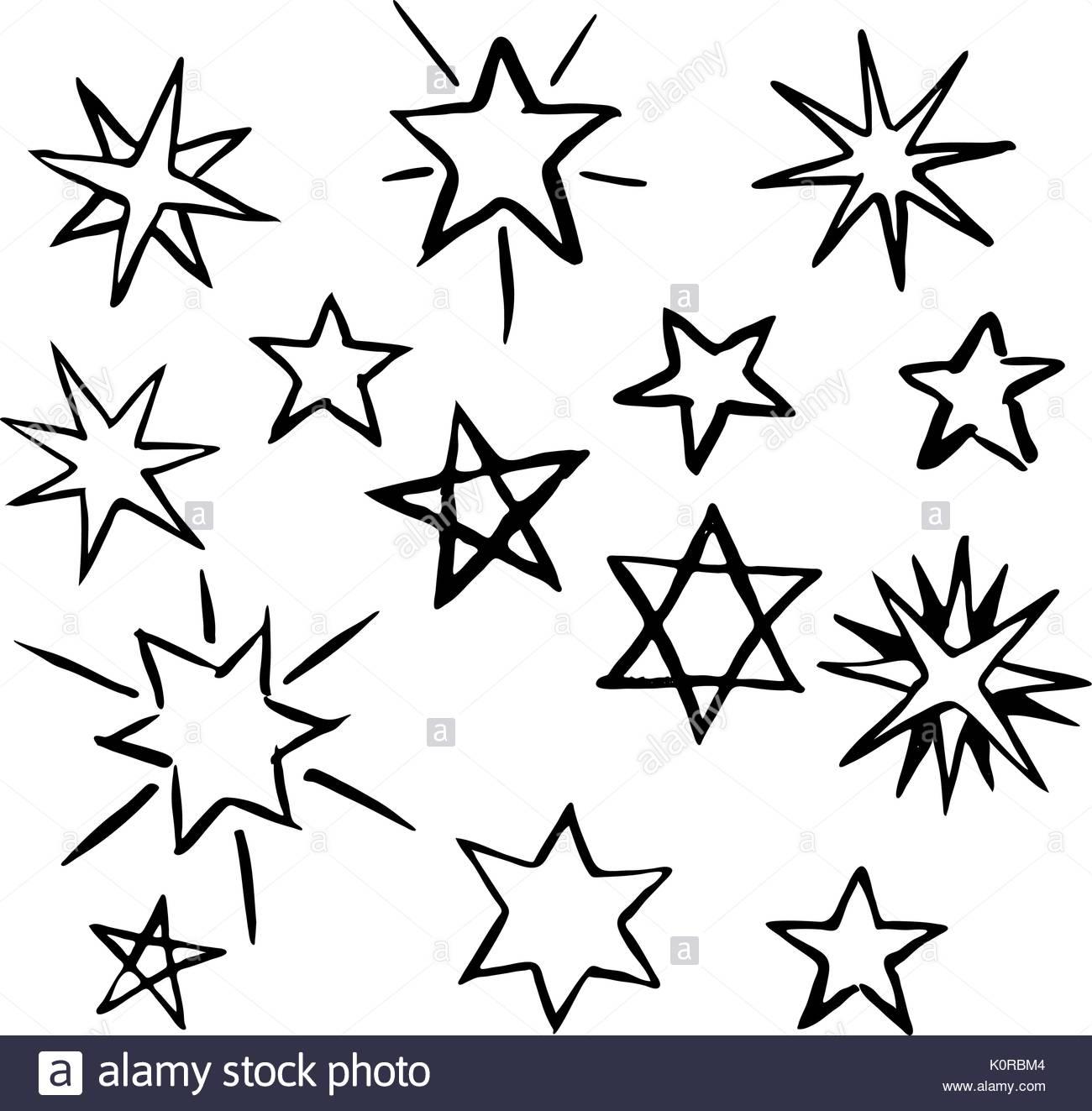 1300x1323 Space Stars Doodle Drawing Image Stock Photos Amp Space Stars Doodle