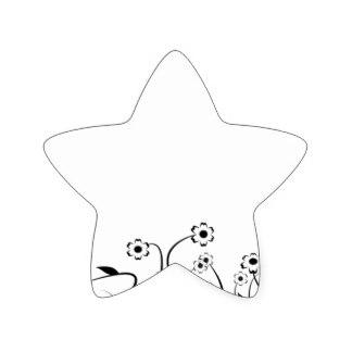 324x324 Line Drawing Sketch Stickers Zazzle