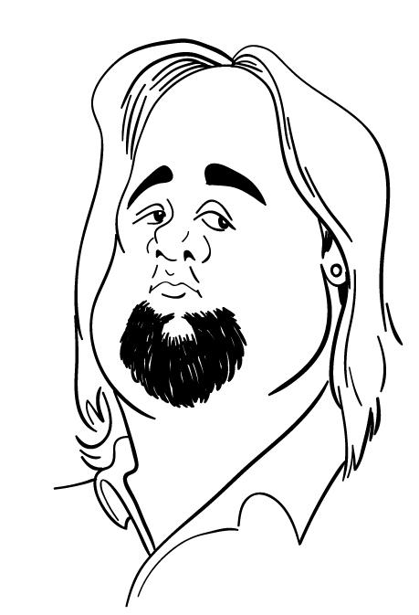 459x673 Tony Calabro Illustration Pawn Stars Line Drawings