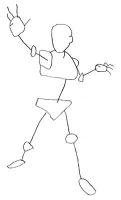 242x400 How To Draw The Human Figure