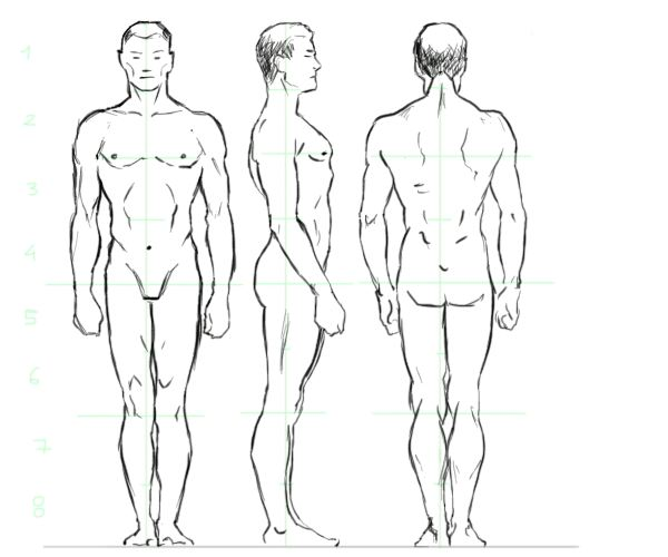 600x500 This Is The Best Tutorial To Learn How To Draw People. Start By