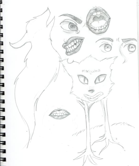 584x698 When You Start Drawing Random Things By Gummibears618