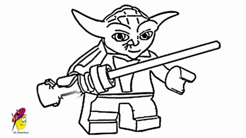 1024x576 Star Wars Drawings Yoda Lego Star Wars Hero How To Draw Yoda