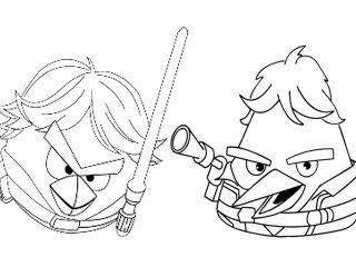 320x240 Angry Birds Star Wars Coloring Book Angry Birds Coloring Pages