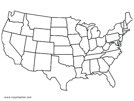440x330 Florida Flag Coloring Page States Coloring Pages United States Map