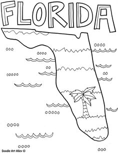 236x305 Florida State Symbols Coloring Page From Florida Category. Select