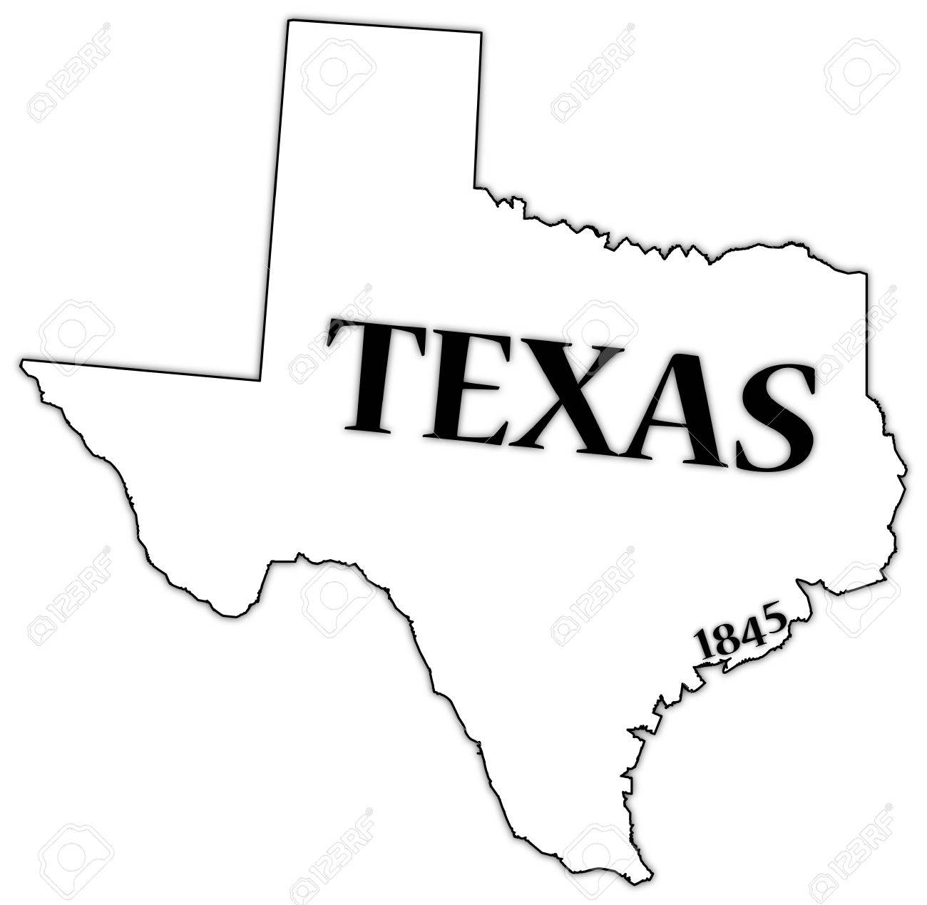 1300x1269 Texas State And Date Royalty Free Cliparts, Vectors, And Stock