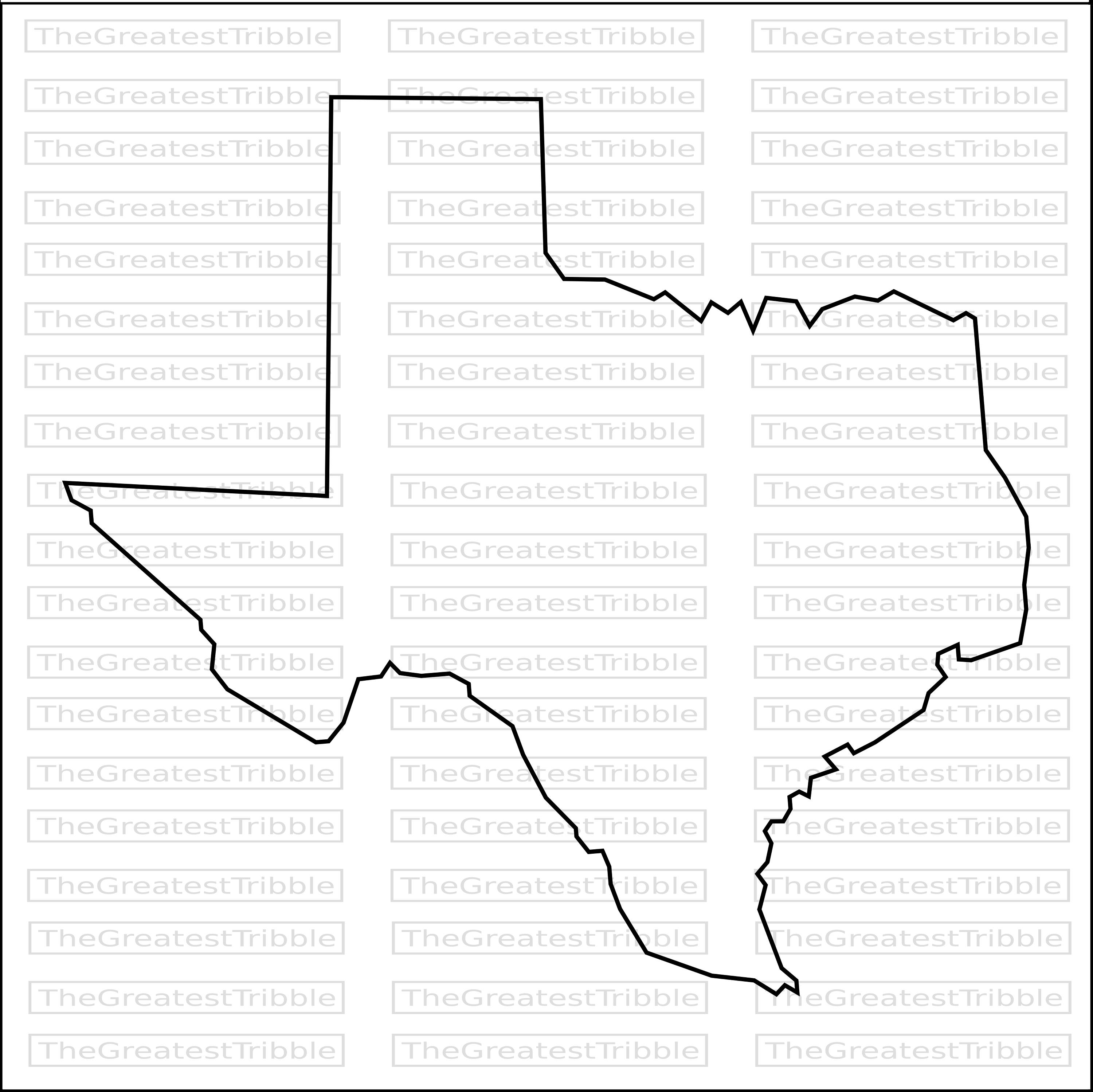 3000x2997 Texas State Map Svg Png Jpg Eps Vector Graphic Clip Art