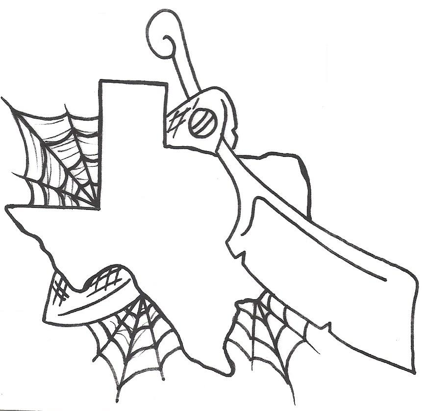 869x838 Texas Tattoo Designs