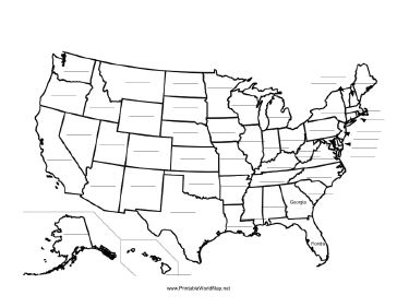 States Drawing at GetDrawings.com   Free for personal use States ...