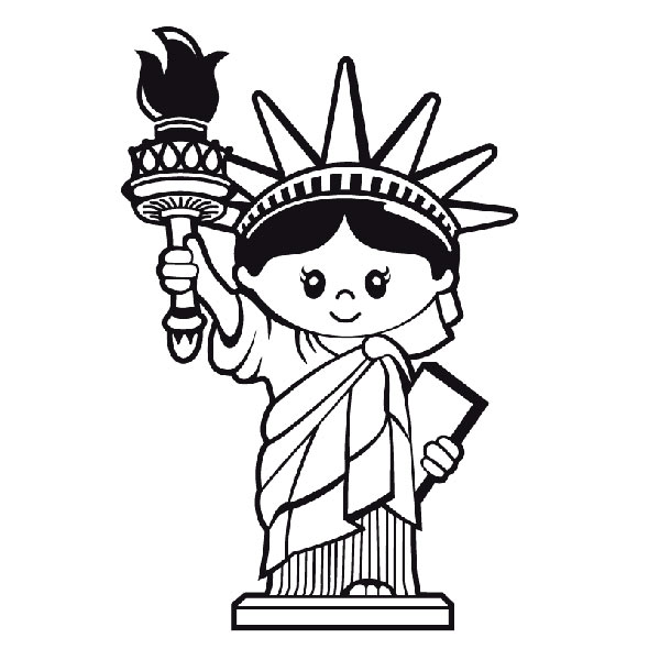 600x600 Liberty Statue (Kids)