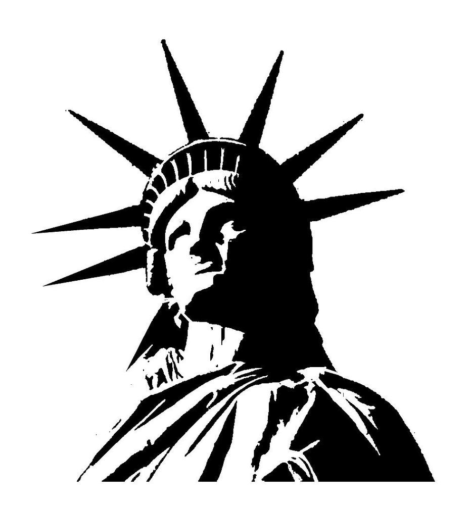 928x1012 Free Clipart Of Statue Of Liberty