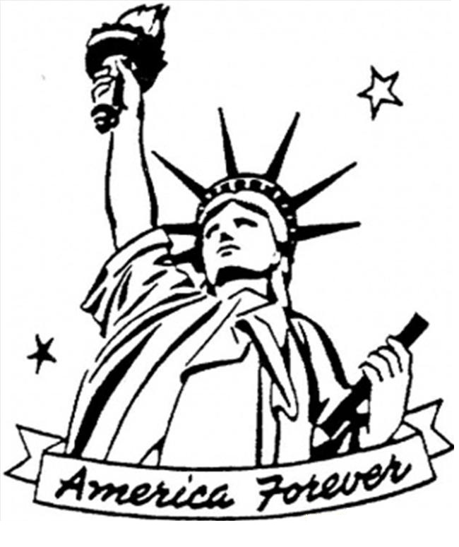 650x775 Free Printable Statue Of Liberty Coloring Pages For Kids