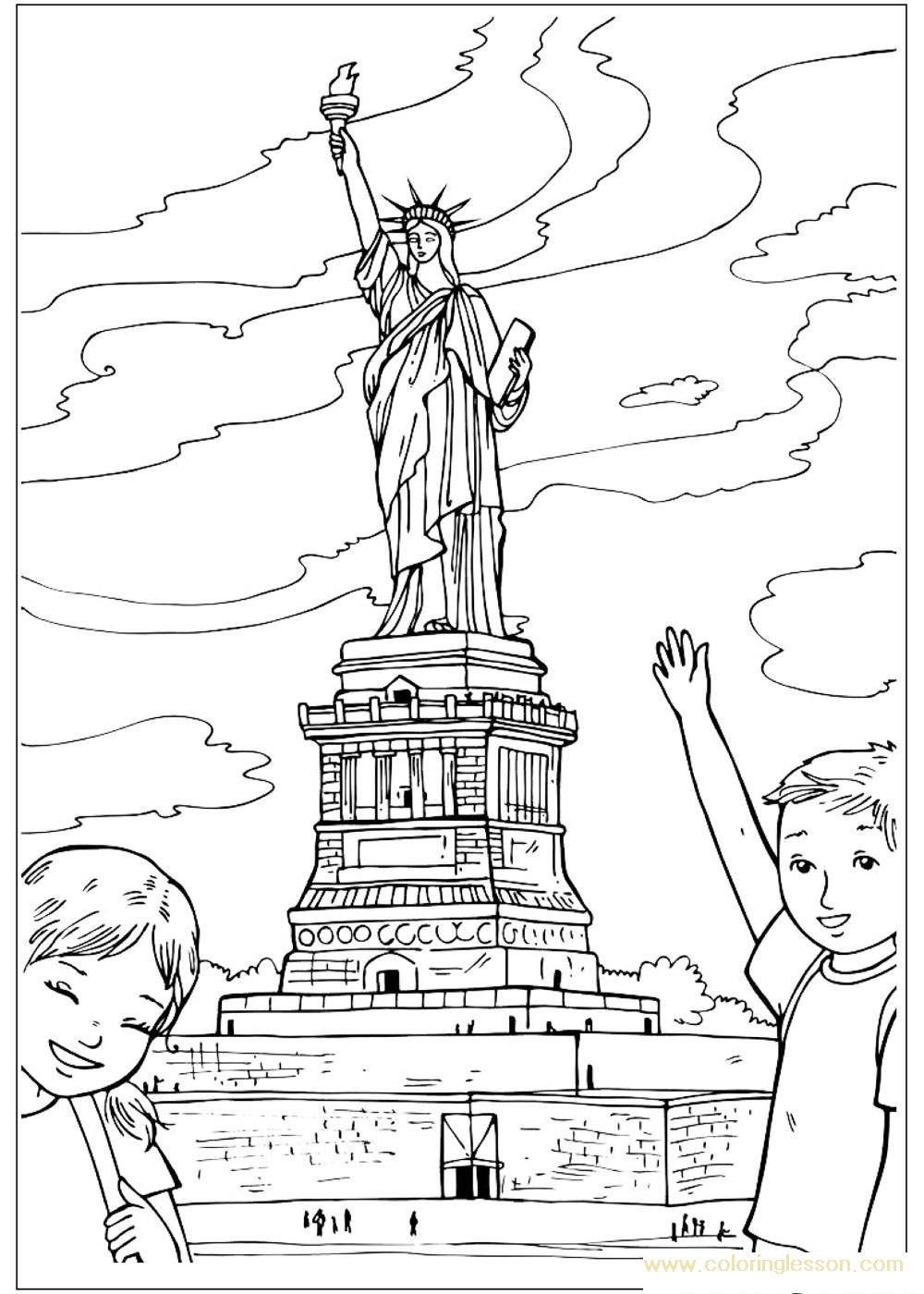 1000x1400 Buildings Coloring Lesson Free Printables And Coloring Pages