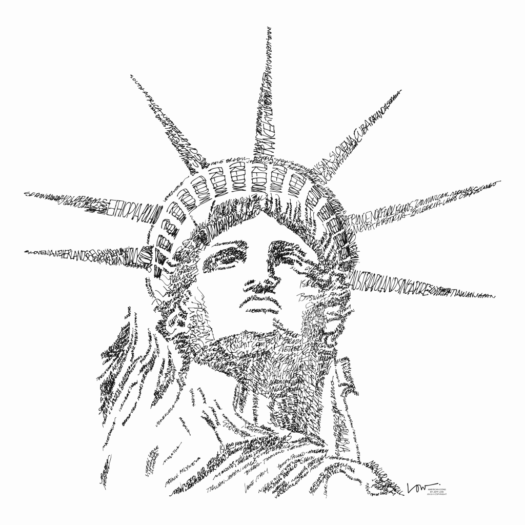 1024x1024 50 Lovely Image Of Statue Of Liberty Coloring Page