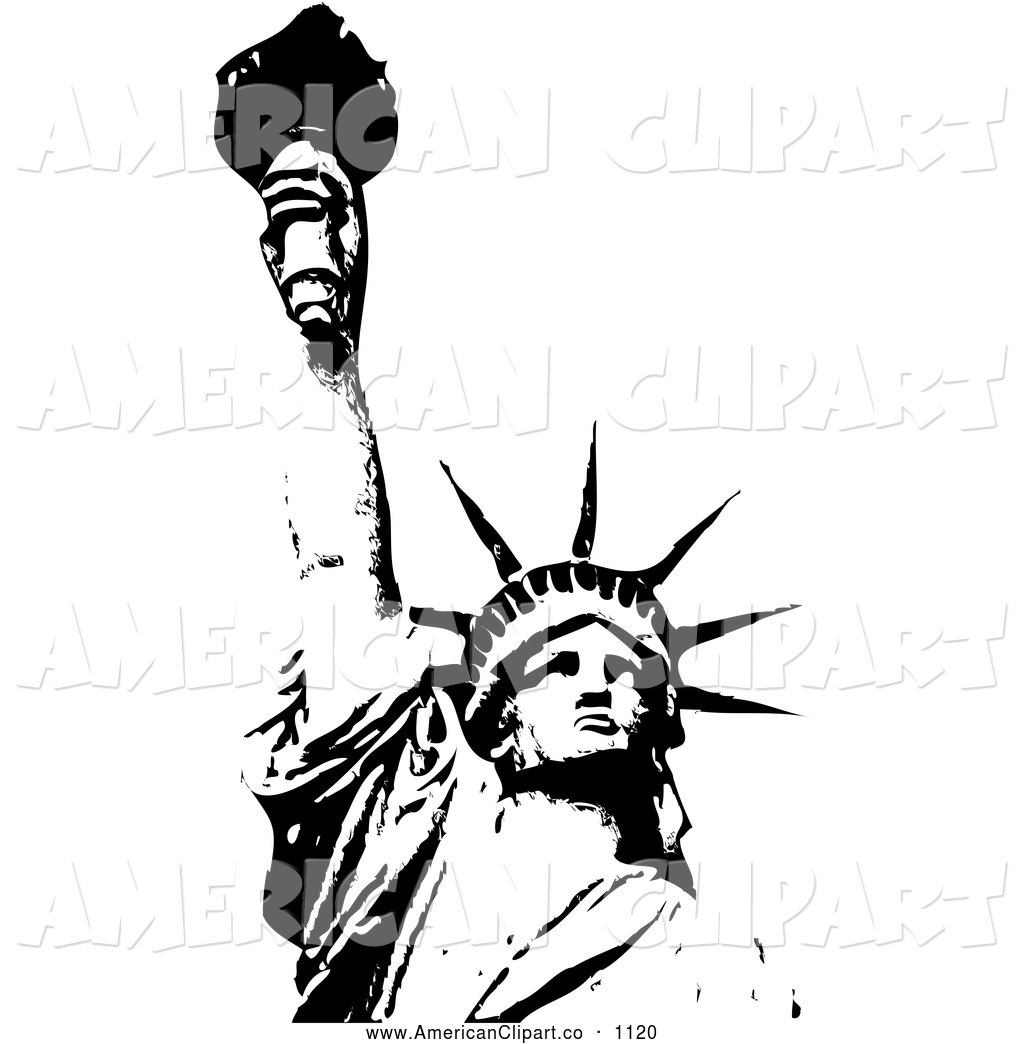 1024x1044 The Statue Of Liberty Outline Free Vector Free Psdvectoricons
