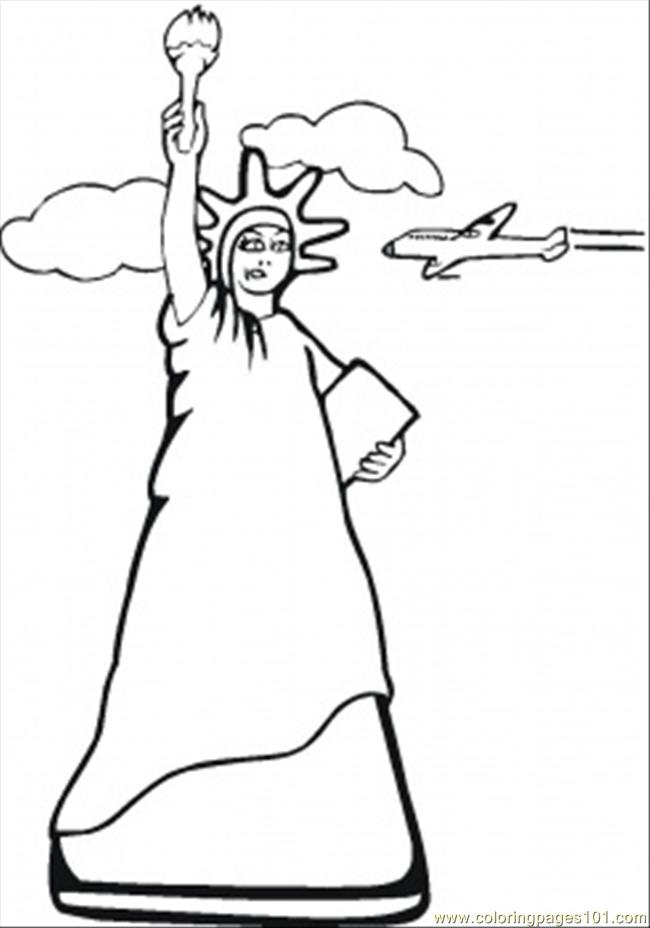 650x928 Statue Of Liberty Clipart