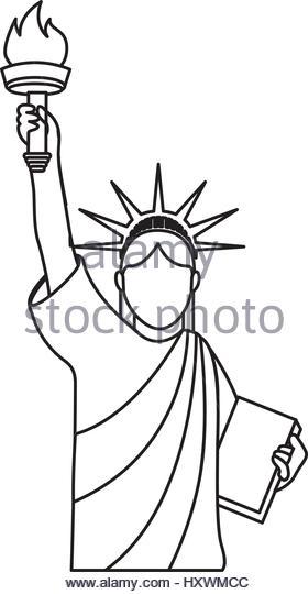 280x540 Statue Of Liberty Vector Vectors Stock Photos Amp Statue Of Liberty
