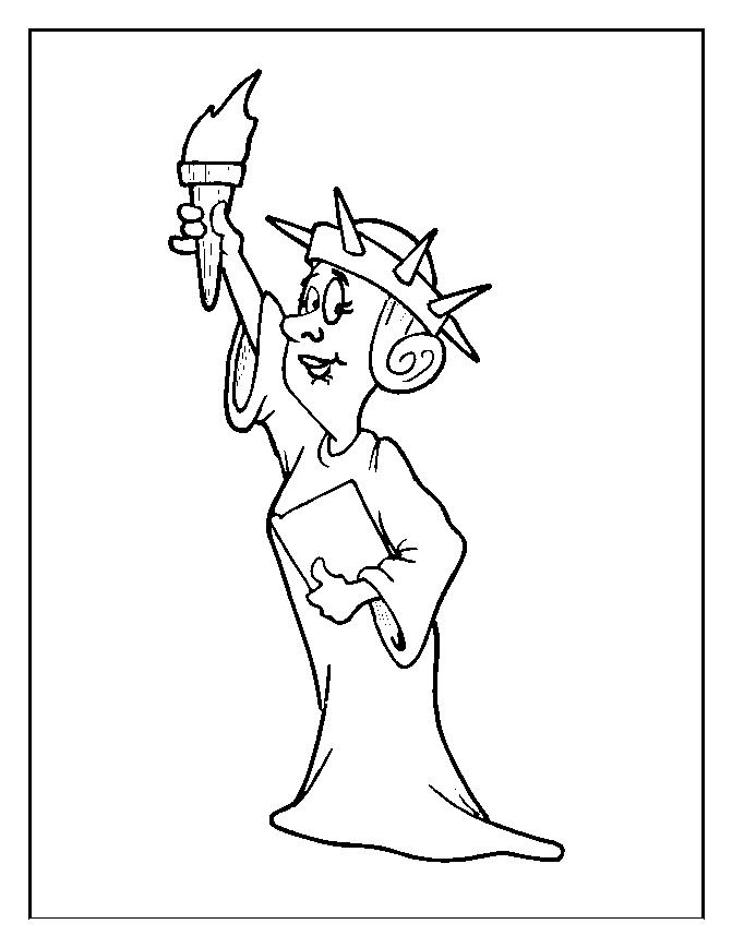 671x869 4th Of July Hat Coloring Pages