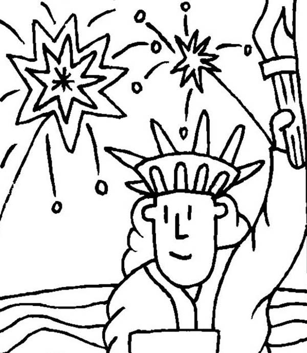 Statue Of Liberty Face Drawing at GetDrawings.com   Free for ...