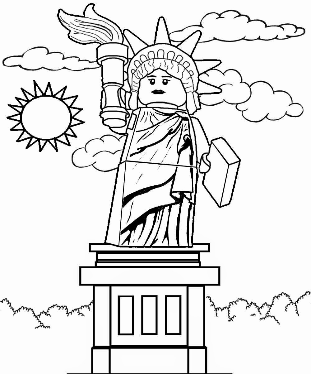 1000x1200 50 Lovely Image Of Statue Of Liberty Coloring Page