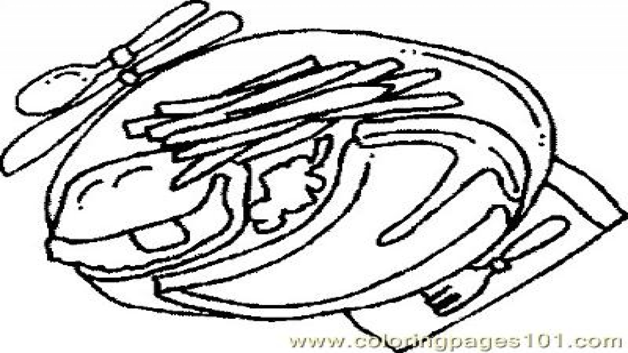 1280x720 Steak Food Coloring Pages Fruits General Foods