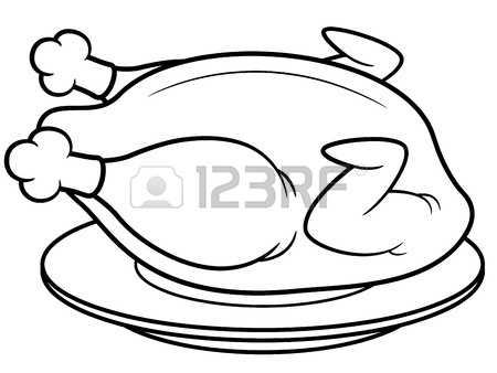 450x338 Cartoon Fish On A Plate Royalty Free Cliparts, Vectors, And Stock
