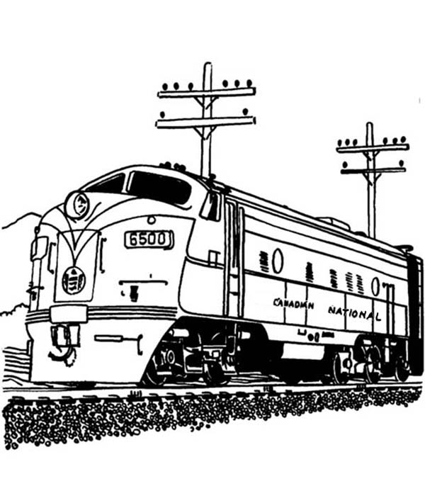 railroad freight cars coloring pages - photo#22