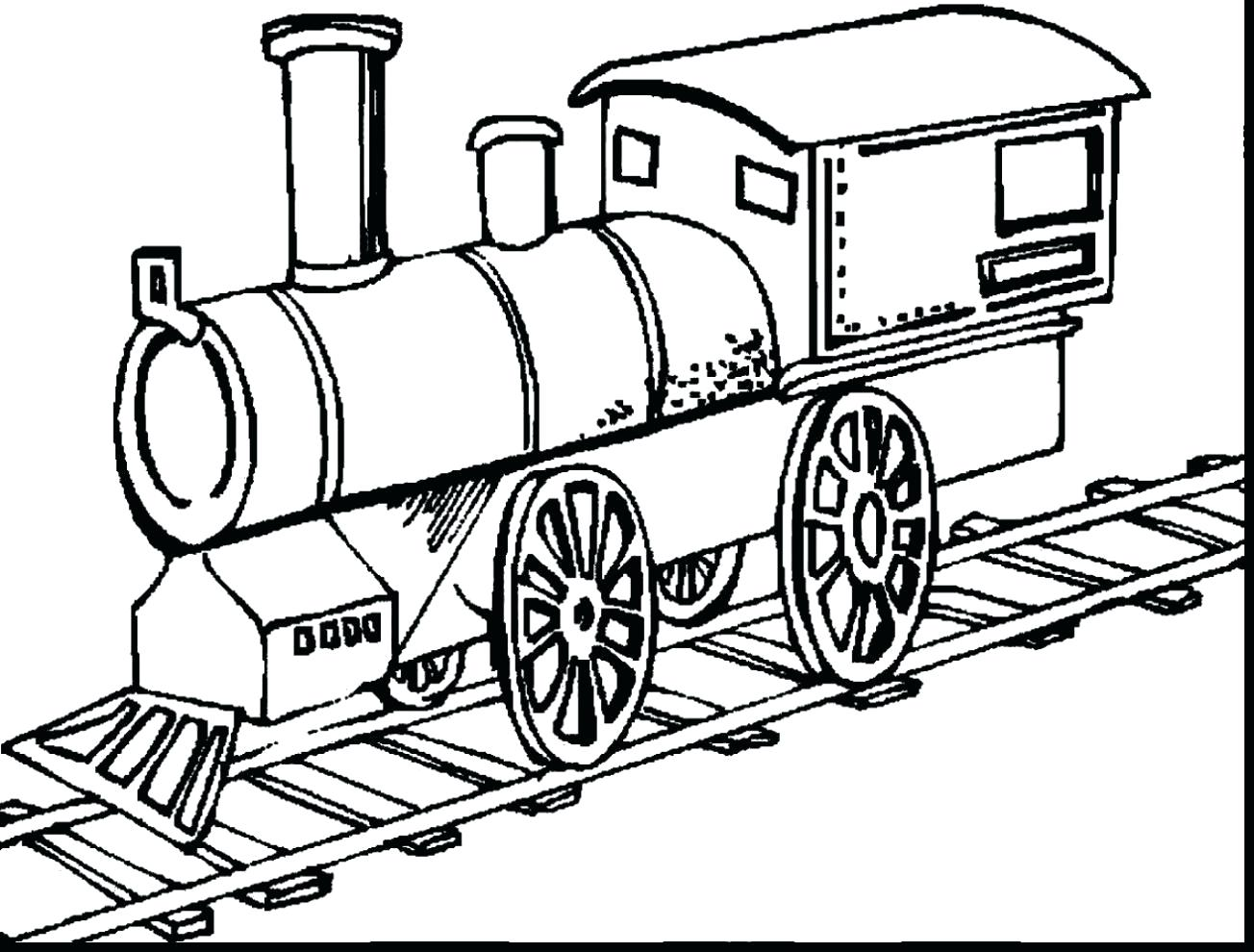 1304x990 Ordinary Train Coloring Page Image 3 26 Outstanding Steam Pages