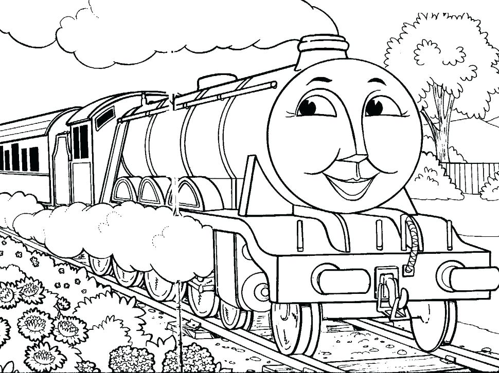 970x726 Train Coloring Books Also Coloring Pictures Of Trains Train