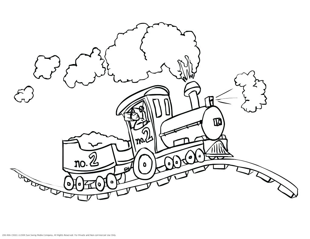 1024x791 Coloring Locomotive Coloring Pages Steam Engine Train Page