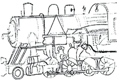 476x333 Elegant Steam Locomotive Coloring Pages Free Download Engine Page