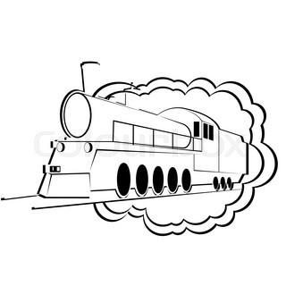 320x320 Old Train Steam Engine Stock Photo Colourbox