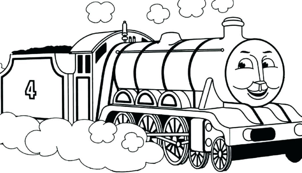 1060x608 Steam Engine Coloring Pages Train For Coloring The Train Coloring