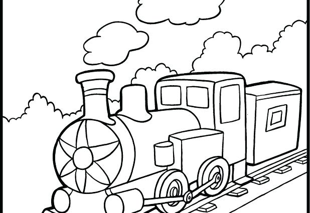618x425 Steam Train Coloring Pages For Steam Engine Coloring Pages Free