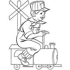 230x230 Top 26 Free Printable Train Coloring Pages Online