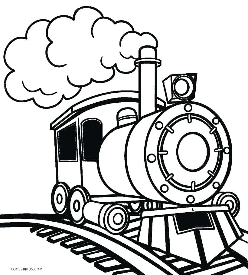 Steam train drawing at free for personal for Steam engine coloring pages