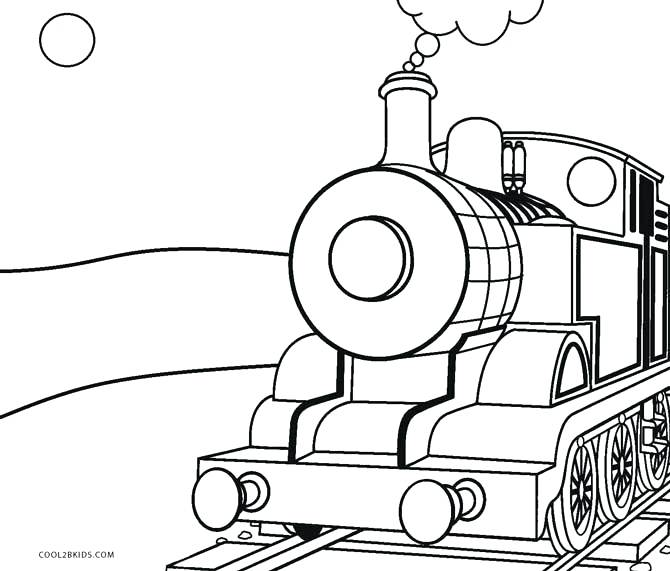 670x571 Coloring Pages Trains Steam Train Coloring Page For Kids Free