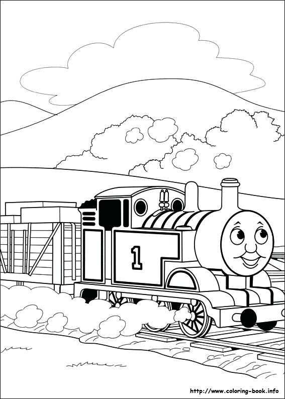 567x794 Idea Thomas Coloring Pages And View Larger 95 Thomas And Friends