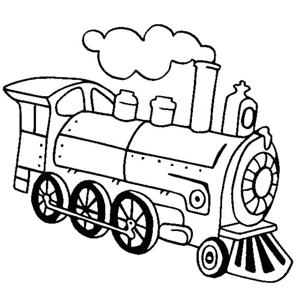 600x600 Steam Train Coloring Pages For Steam Engine Coloring Pages Free