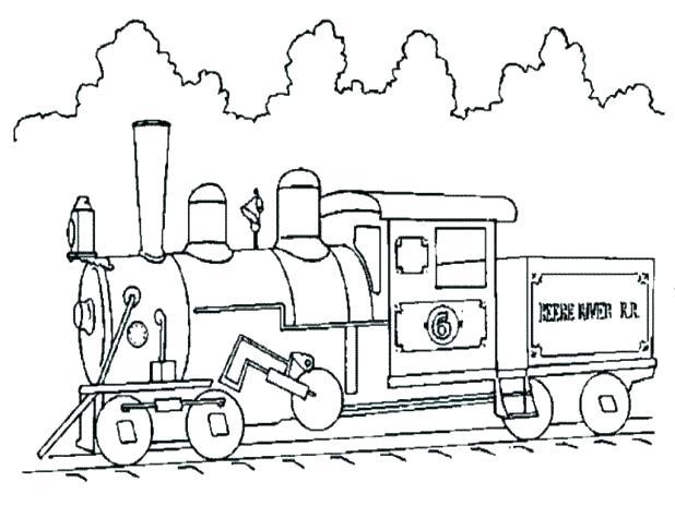 618x464 Train Coloring Books Plus Mm Coloring Pages Plus Mm Railroad Steam