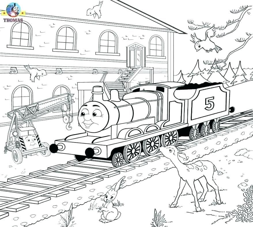 878x790 Steam Train Coloring Pages Photos Of The Beautiful Steam Train