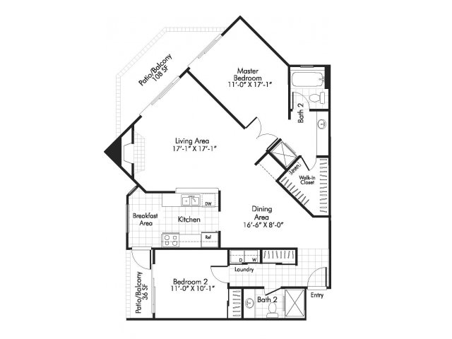 640x480 2 Bed 2 Bath Apartment In Denver Co Alta Springs Apartments