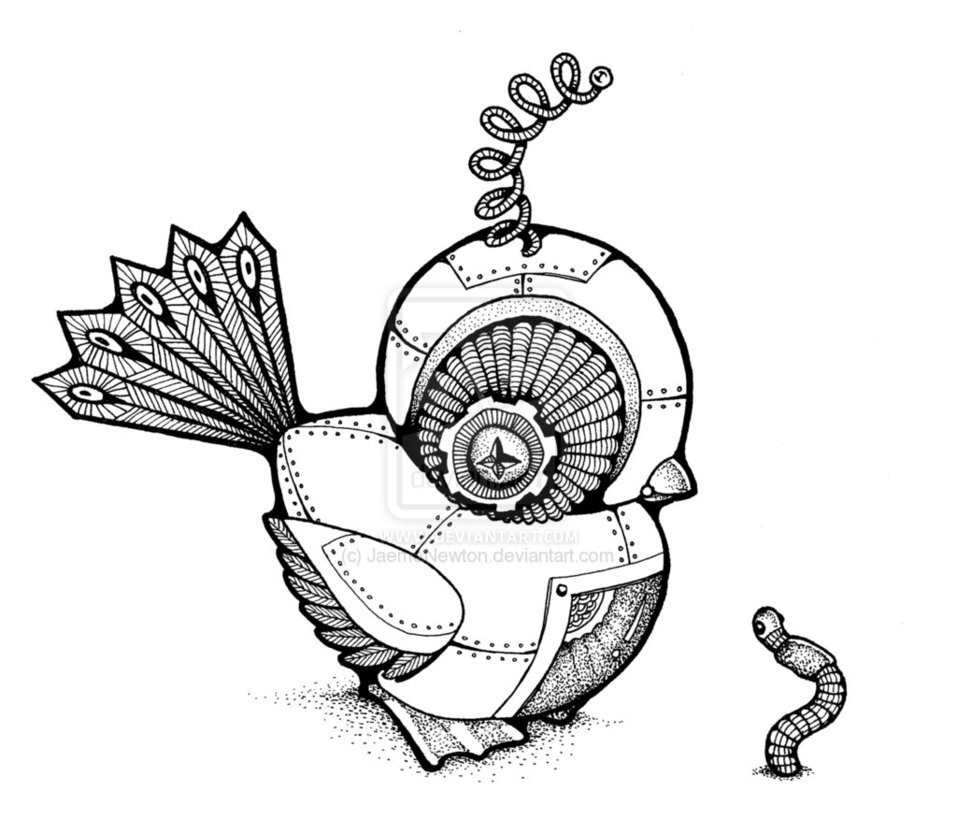 957x834 Steampunk Bird Tattoo Starting From 11 Th Result Go To First