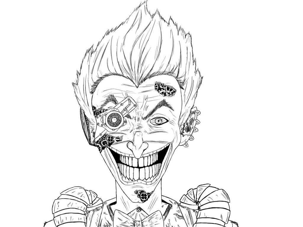 1024x768 Joker Steampunk [Version Non Colo] By Meyerart