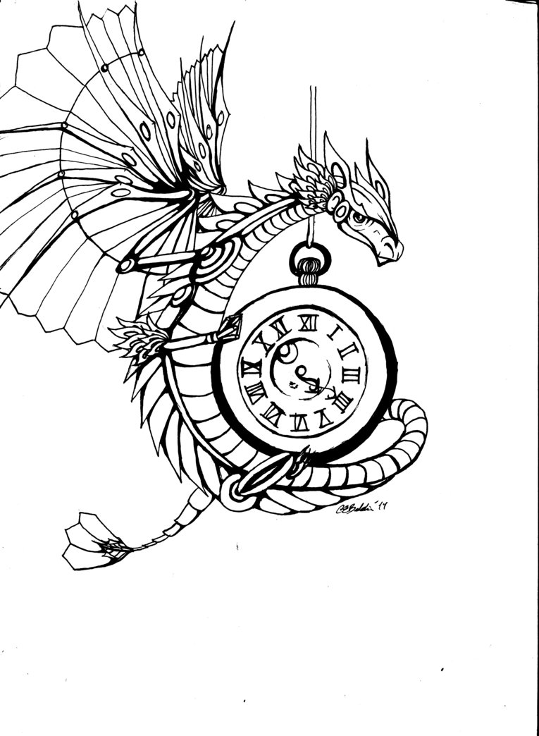 765x1044 Steampunk Dragon By Cit Cat Kate