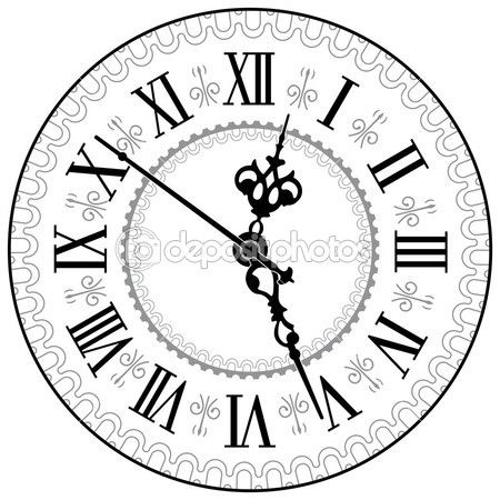450x450 25 Images Of Steampunk Clock Face Template