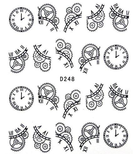 425x490 Clockwork Gears Drawing