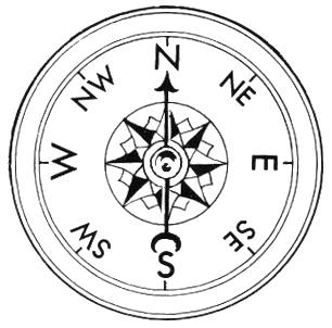 306x302 Compass Free Clip Artpass Rose Line Drawing Dayasriod Top Image